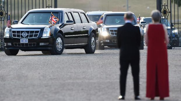 Mobil digunakan Trump saat kunjungan ke Inggris