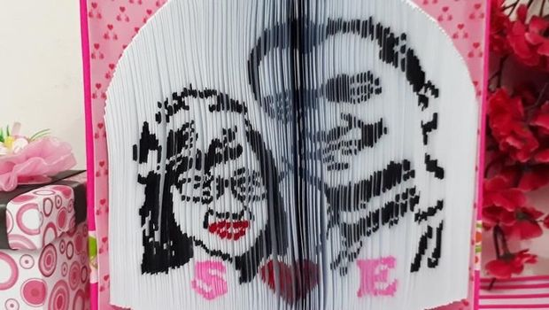 Bikin 'Lukisan Kertas', Pemuda Ini Kantongi Rp 60 Juta per Bulan