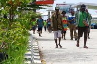 Pasar Perbatasan RI-Papua Nugini