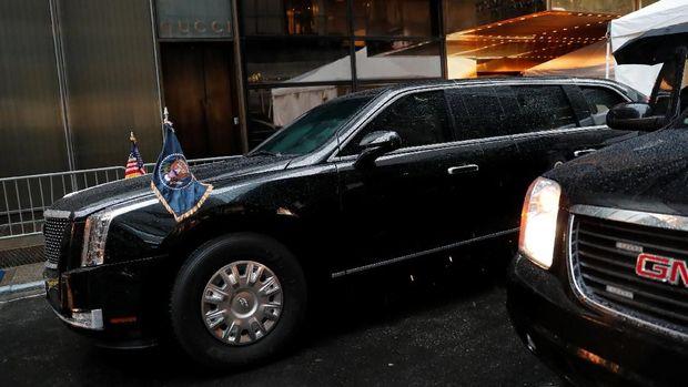 Mobil baru Donald Trump