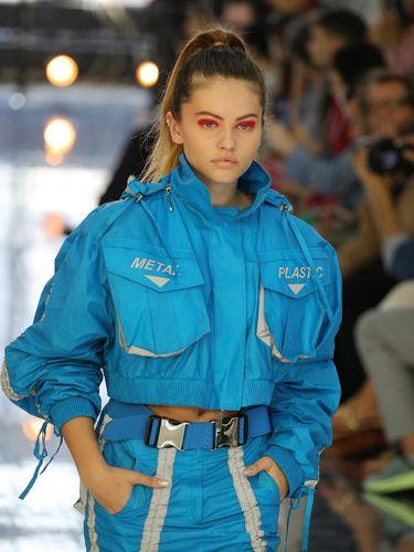 'Wanita Tercantik Dunia' Eksis Jadi Model di Pekan Mode Dunia