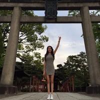 Debbie juga mainke Kyoto di Jepang. (yehdeb/Instagram)