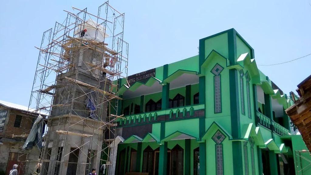 Masjid Terdampak Proyek Tol di Semarang Dibangun Ulang, Begini Hasilnya