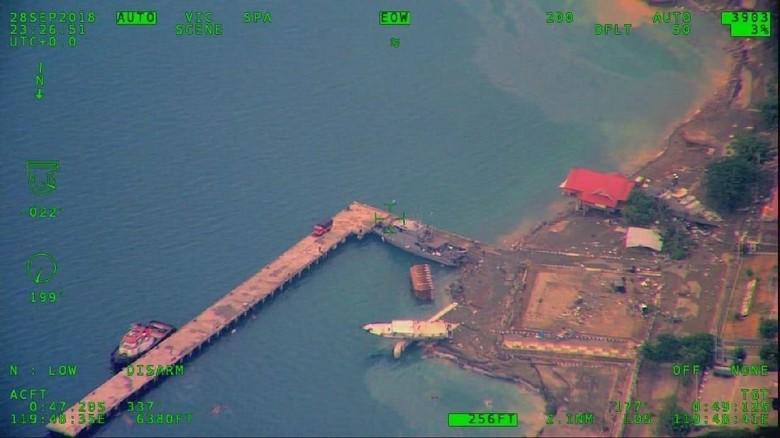 BNPB: Tsunami di Donggala Capai 7 Meter, Lampaui Tiang Listrik