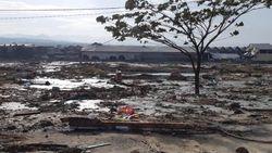 BNPB: Tinggi Tsunami Capai 5 Meter di Palu
