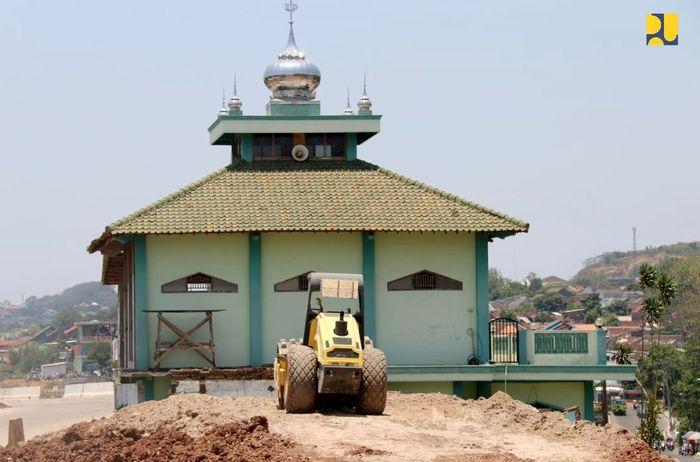 Masjid Terdampak Proyek Tol Di Semarang Dibangun Ulang Begini Hasilnya