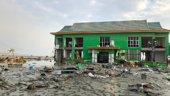 Kampus IAIN Palu pasca-tsunami (Foto: dok. istimewa)