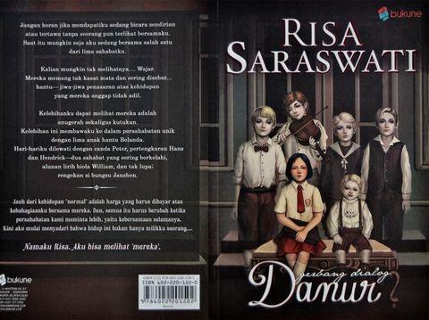 Arwah 'Asih' Merajalela, Berani Intip 5 Buku Horor Risa Saraswati?
