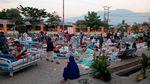 Ratusan Bangunan Rusak Akibat Gempa-Tsunami di Palu