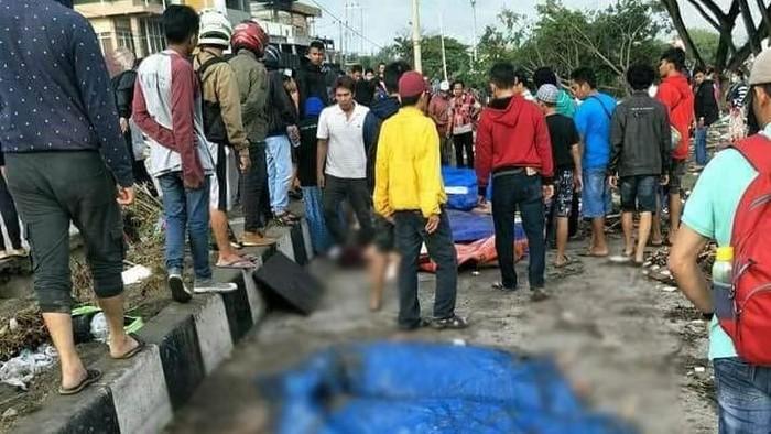 Korban tewas gempa dan tsunami di Palu. (Dok. Polres Palu)