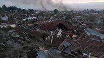 Foto: Luluh Lantak Permukiman di Balaroa Palu Pasca Gempa