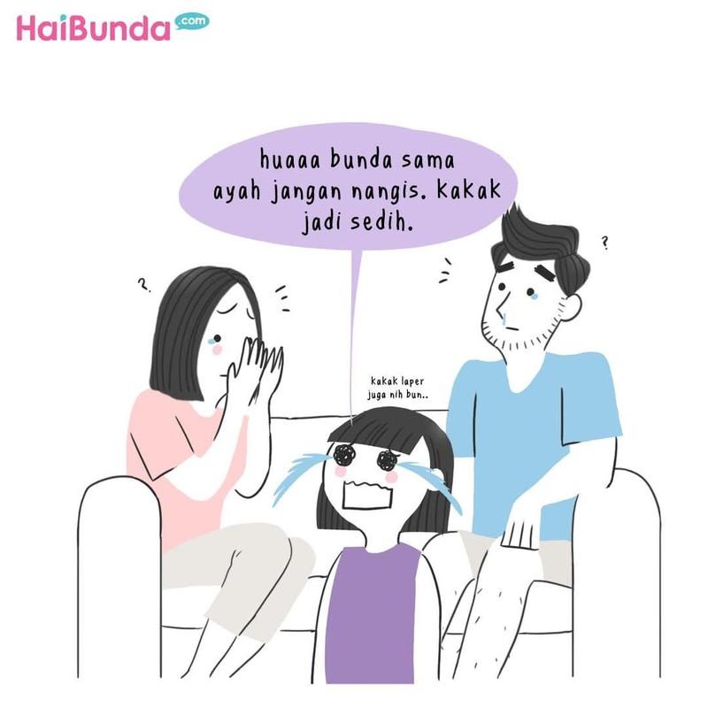 Ada cerita tentang sosok ibu mertua bagi bunda di komik ini. Kalau sosok ibu mertua Bunda seperti apa? Sharing yuk di kolom komentar.