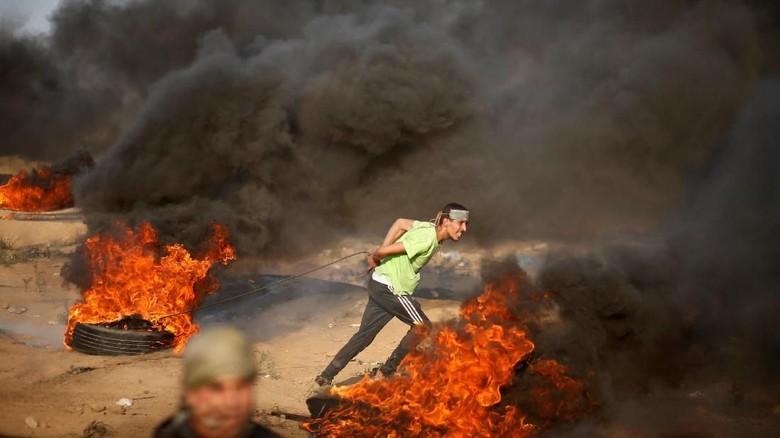 7 Warga Palestina Termasuk 2 Bocah Tewas Ditembak Israel di Gaza