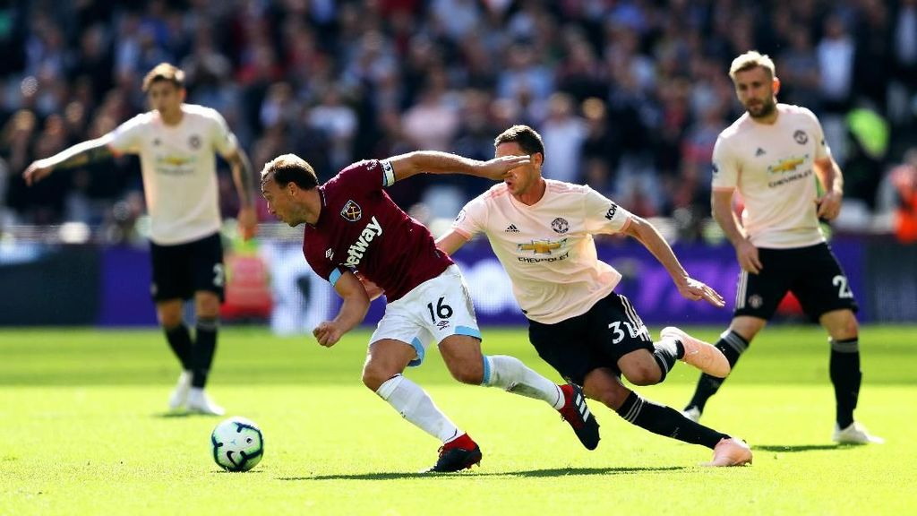 Link Live Streaming West Ham Vs Manchester United