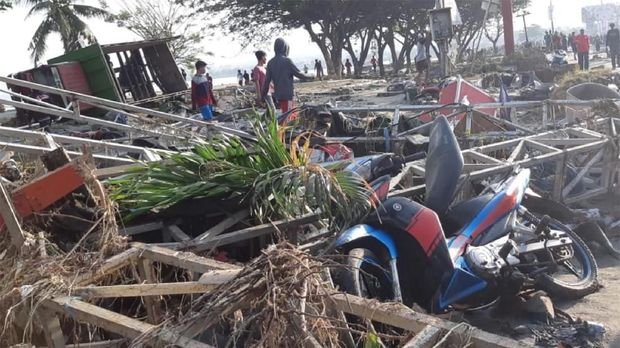 Duka Otomotif Indonesia karena Gempa Sulteng
