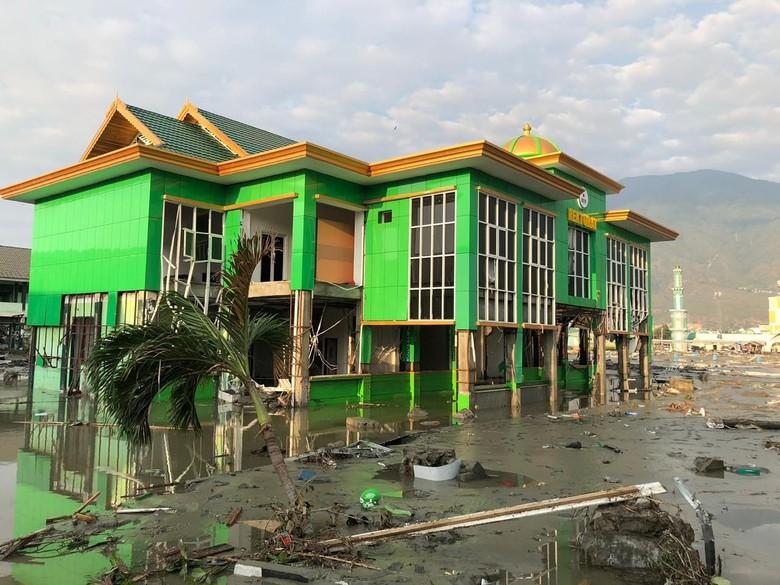 Penampakan Kerusakan Kampus IAIN Palu Pasca-tsunami