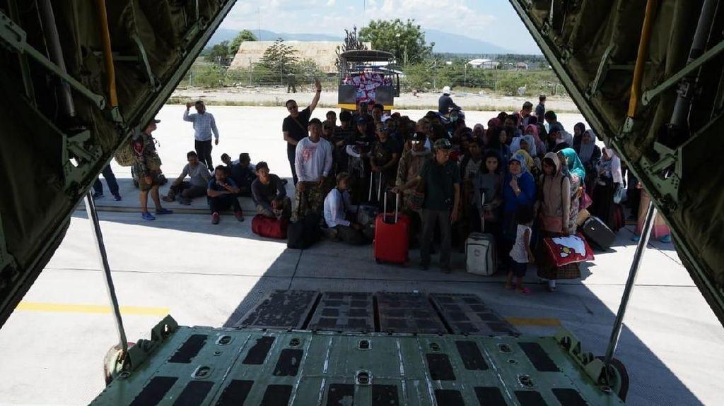 Warga Sandra Hercules di Palu, Menhub: Lebih Baik Tak Terbang