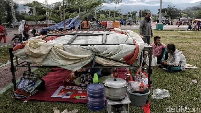 Pengungsi di Palu (Foto: Pradita Utama)