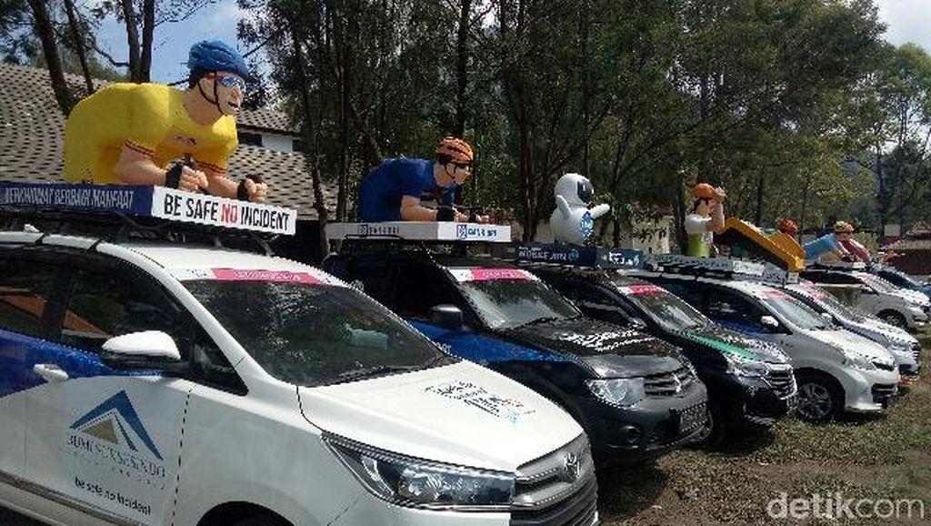 Cavalcade, Konvoi Mobil yang Unik di Tour de Banyuwangi Ijen 2018