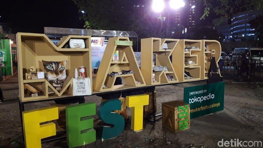 Makerfest Surabaya Jadi Ajang Kreativitas Entrepreneurship Muda
