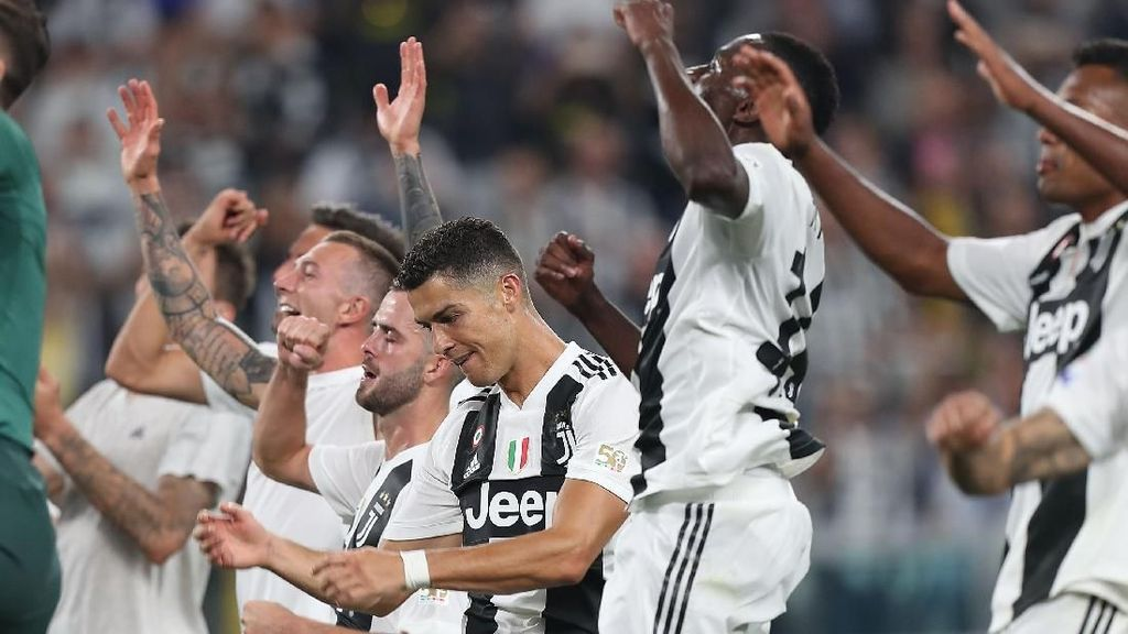 Juventus Mengejar Rekor Start Milan
