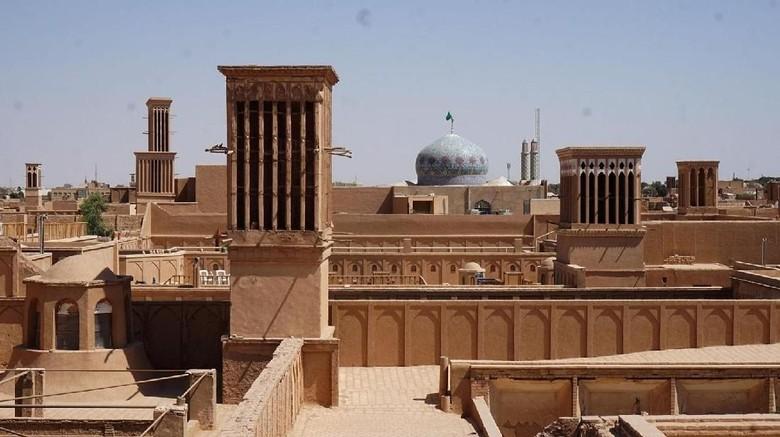Teknologi kuno AC di Iran (Shervin Abdolhamidi/BBC Travel)