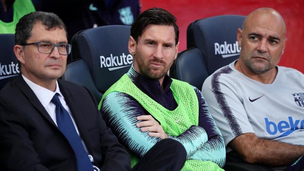 Kenapa Messi Dicadangkan, Valverde?