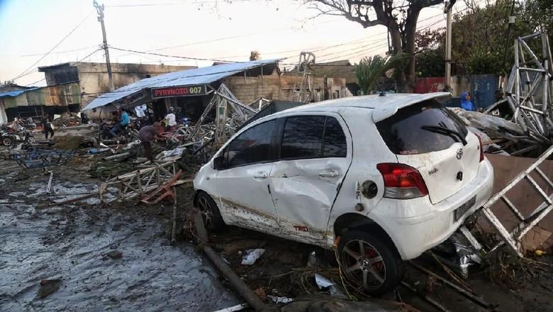 25 Ton Beras dari Tolitoli Dikirim ke Donggala untuk Korban Gempa
