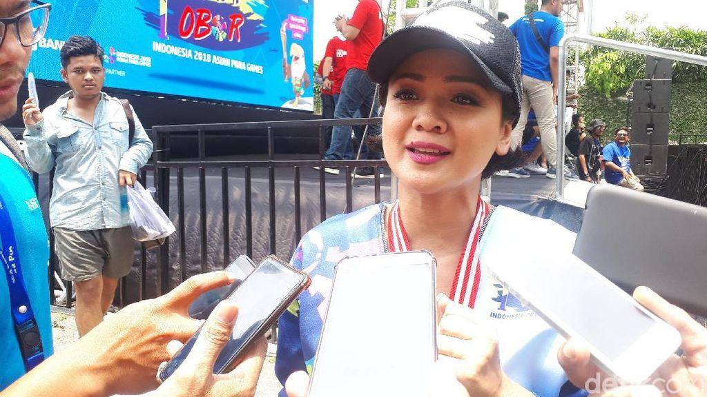 Nirina Zubir: Awalnya Tak Tahu Asian Para Games Kini Antusias Ingin Nonton