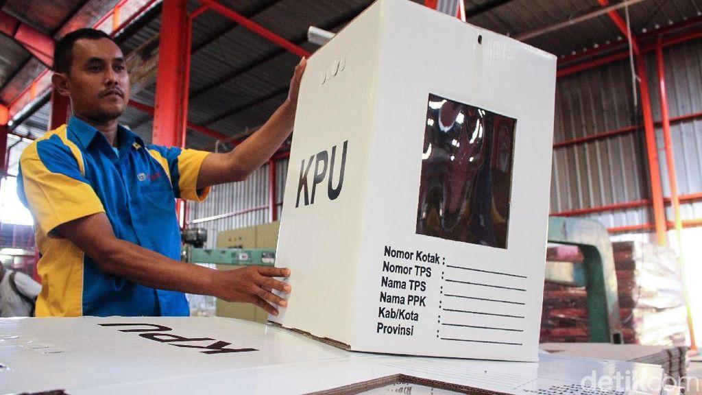 Kotak Suara 'Kardus' di Pemilu 2019, Menurut Anda Aman atau Rawan?