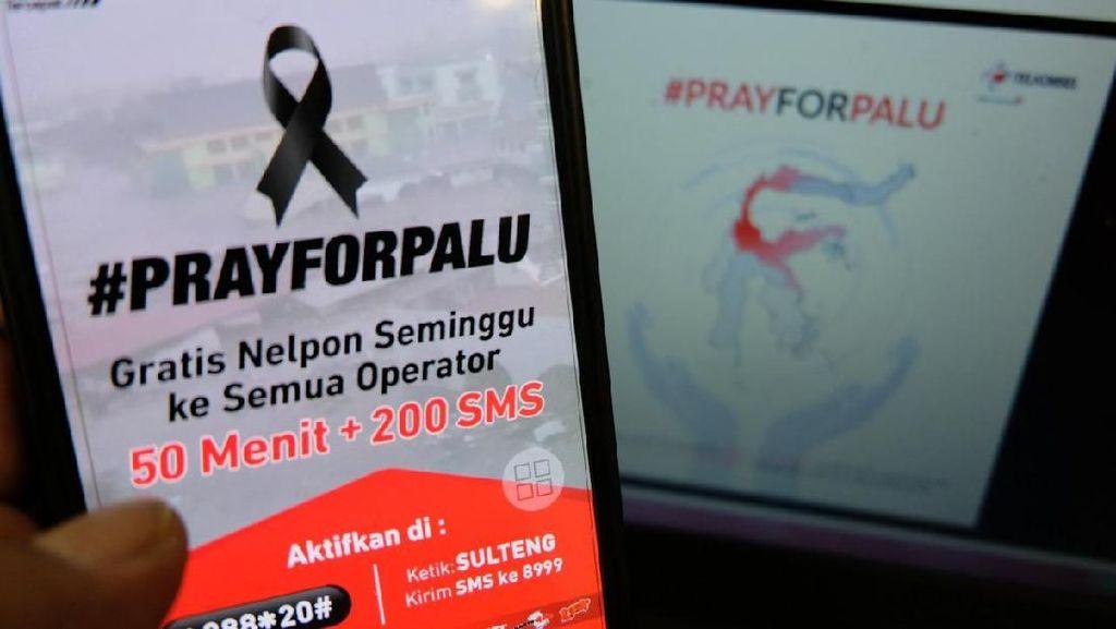 Telkomsel Gratiskan Telepon di Wilayah Bencana Palu dan Donggala