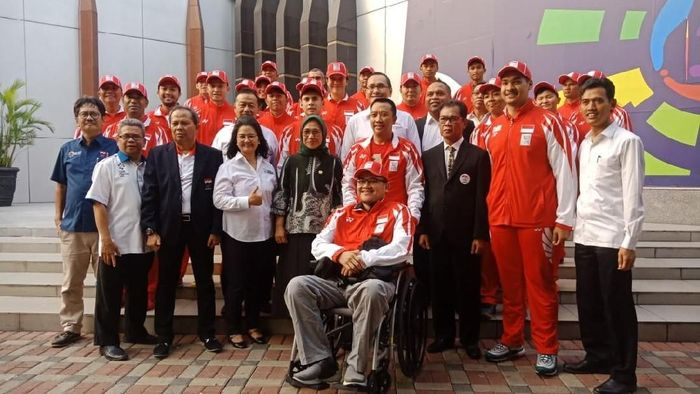 Pelepasan kontingen Youth Olympic Games (dok.Kemenpora)