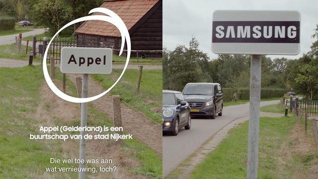 Samsung Bagi-bagi Galaxy S9 Gratis di Desa Apple