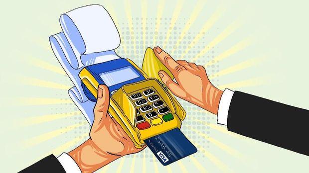 Masyarakat Belanja Pakai Kartu Kredit Hingga Rp 28 T