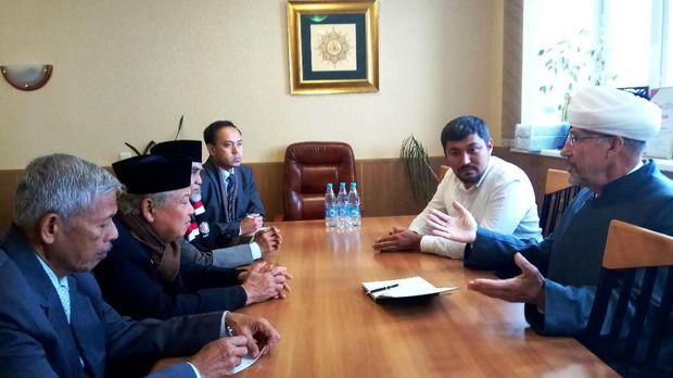 Pertemuan UNIDA Gontor dengan Dewan Mufti Rusia.
