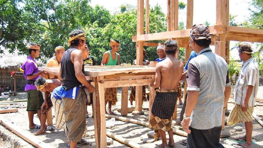 Foto: Kampung Adat Bayan Lombok dan Indahnya Gotong Royong