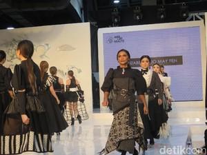 Fashion Show Bareng 101 Influencer, Desainer Ini Pecahkan 2 Rekor MURI