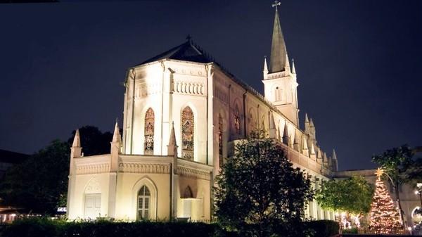Bangunan ini bukan lagi sebuah Kapel. Melainkan pusat hiburan dengan bangunan bernilai historis di kota urban Singapura (Visit Singapore)