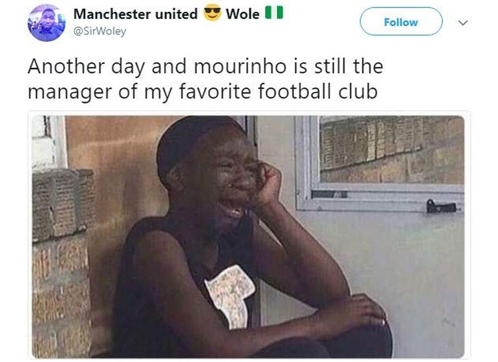 Makin hari sepertinya makin berat buat fans Manchester United jika Jose Mourinho masih melatih tim kesayangannya. Foto: Istimewa