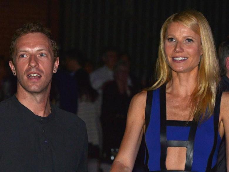 Foto: Chris Martin dan Gwyneth Paltrow (Getty Images)