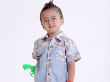 Keefe Bazli Ardiansyah adalah anak semata wayang Tasya Nur Medina dan Ferry Ardiansyah. (Foto: Instagram/keefebazli)