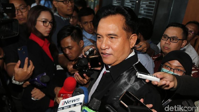 Yusril: Saya Bukan Lawyer Presiden, tapi Pasangan Jokowi-Maruf