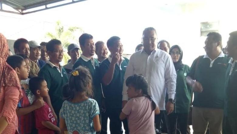 Bertolak ke Palu, Mendes Siapkan Posko Pengungsi di Balai Transmigrasi