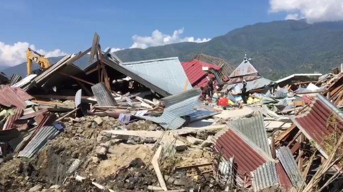 Gempa Palu/Foto: Gusti Ramadhan