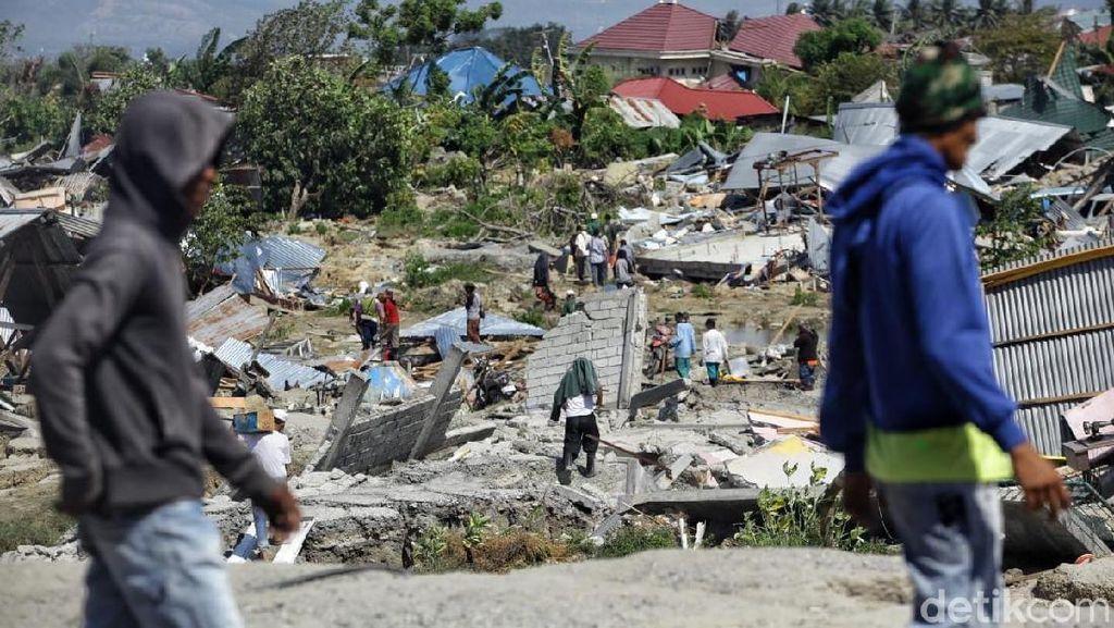 Hancurnya Kota Palu Dilihat dari Luar Angkasa