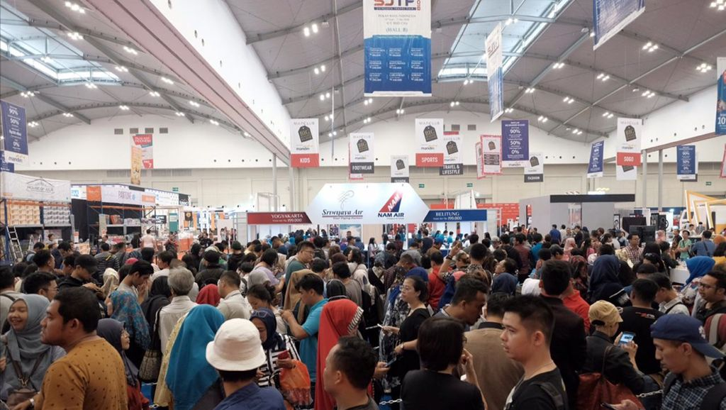 Ada Promo Tiket Pesawat di Pekan Raya Indonesia 2018