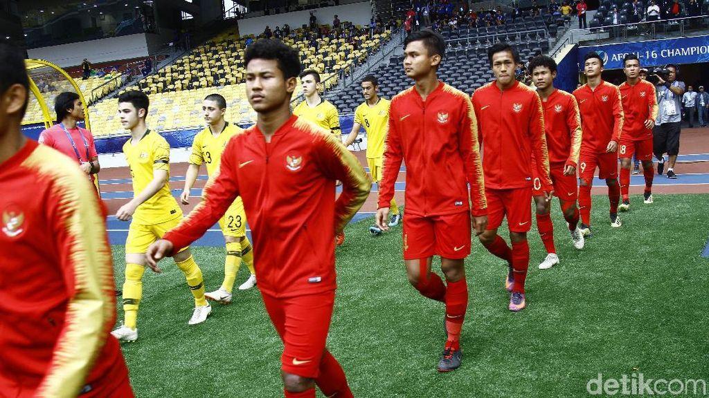 Hasil Piala Asia U-16: Dikalahkan Australia, Indonesia Gagal ke Piala Dunia