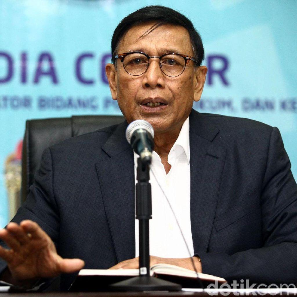 Tantangan Wiranto ke Prabowo