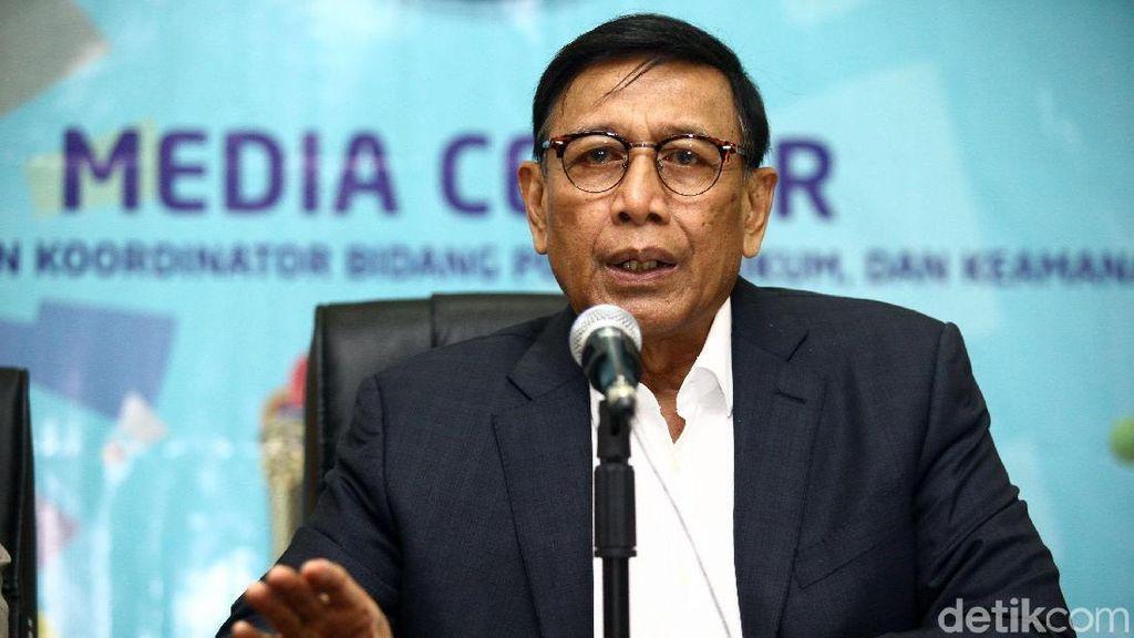 Wiranto: Isu Pemilu Curang Sejak 1999, Jangan Ganggu Keamanan Nasional!