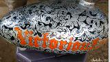 Mengukir Batik di Part Motor Butuh Waktu Minimal Sebulan